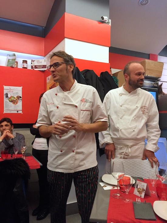 Da sinistra: Ciro Coccia e Francesco Fusco