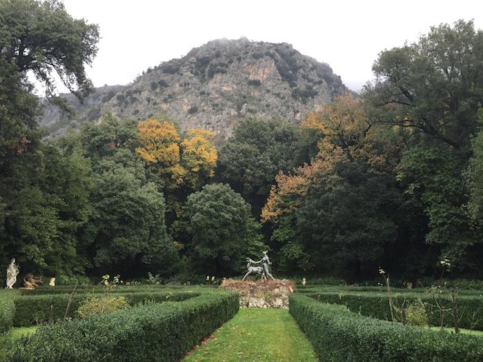 Il giardino all'italiana con Diana cacciatrice