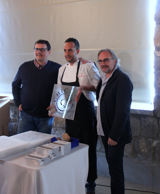 Da sx: il neopresidente Paolo Barrale, il nuovo socio Luigi Salomone e il presidente uscente, Marco Sacco,